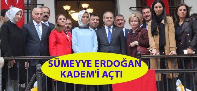 KADEM Samsun İl Temsilciliği Sümeyye Erdoğan'ın da Katılımıyla Açıldı