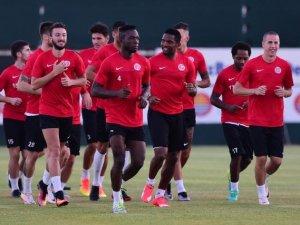 Eto'o Antalyaspor İle Yeniden Antrenmanda