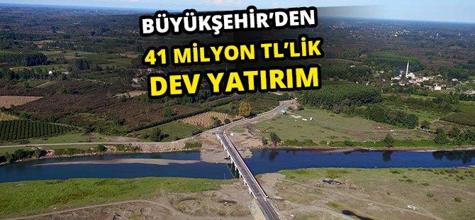 Samsun Büyükşehir'den Çarşamba'ya 41 Milyon TL'lik Dev Yatırım