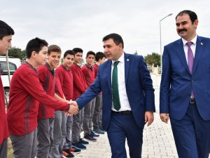 Samsun Milletvekili Hasan Basri Kurt, Atakum İHL Öğrencileri İle Bir Araya Geldi