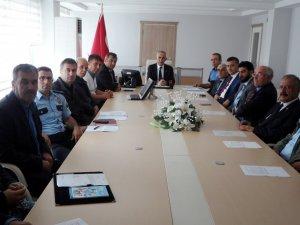 Samsun Bafra'da Güvenlik Toplantısı