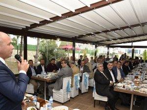 """Samsun'un Tekkeköy İlçe Başkanı Togar,  """"Saklı Bahçe""""yi Tanıttı"""