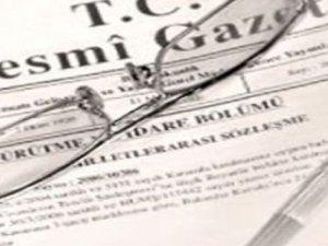 Kritik Atamalar Resmi Gazete'de