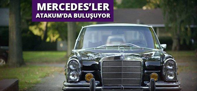 Mercedes'ler Samsun'un Atakum İlçesi'nde Buluşuyor