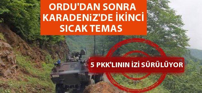 Giresun'da PKK İle Çatışma 5 PKK'lının İzi Sürülüyor