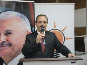 AK Parti Bafra İlçe Danışma Kurulu Toplantısı Yapıldı