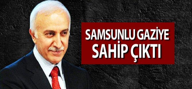 Samsun Valisi İbrahim  Şahin Samsun'lu Gaziye Sahip Çıktı