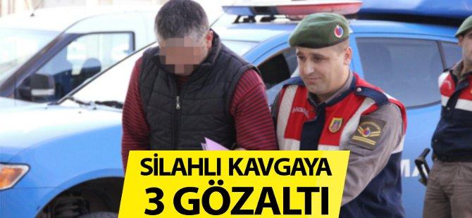 Samsun'da Silahlı Kavgaya 3 Gözaltı