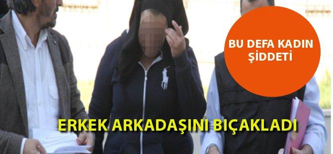 Samsun'da 20 Yaşındaki Genci, Kız Arkadaşı Bıçakladı