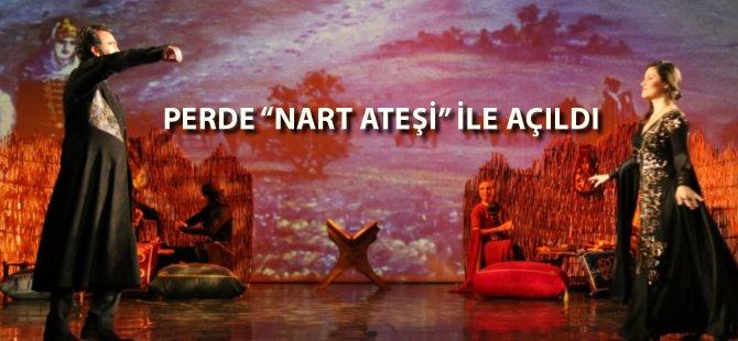 Samsun Devlet Opera ve Balesi Perdelerini Nart Ateşi İle Açıyor