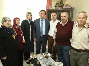 Başkan Genç'ten Hacılara Ziyaret