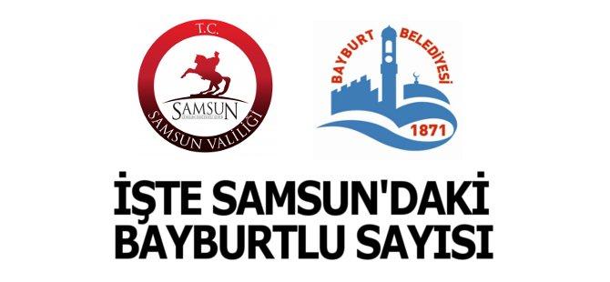 Hakan Tali  Samsun'da Yaşayan Bayburtlu Sayısını Açıkladı