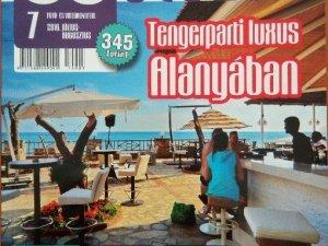 Macaristan Dergisi Alanya'yı Tanıtacak