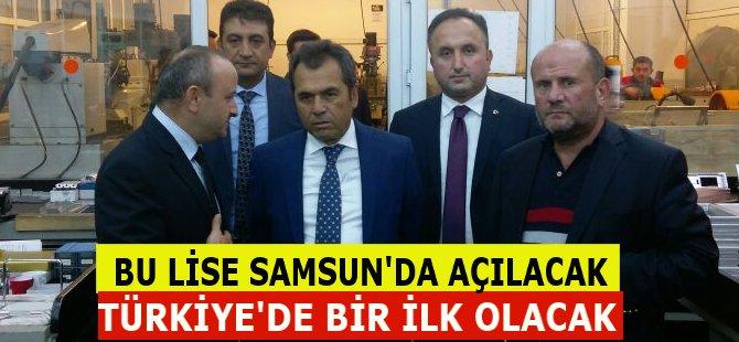 Tıbbi Cihaz Teknolojileri Mesleki ve Teknik Anadolu Lisesi Türkiye'de İlk Defa Samsun'da Açılacak