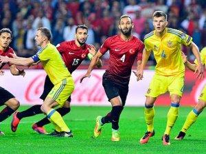 Türkiye Ukrayna Karşılaşması 2-2 Skorla Bitti