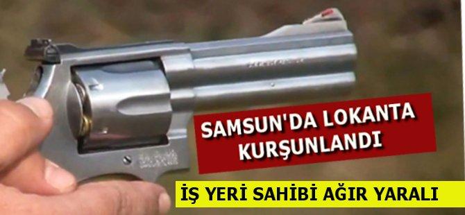 Samsun'da Lokantaya Silahlı Saldırı