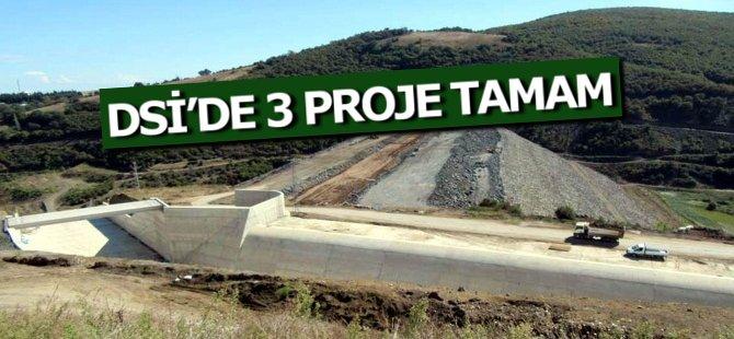 DSİ'de 3 Proje Tamam, 42 Projenin Yapımına Devam Ediliyor