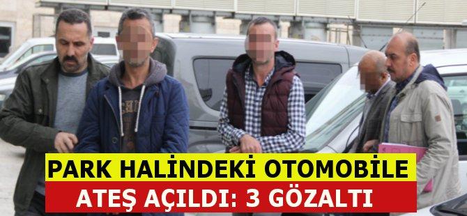 Samsun'da Park Halindeki Araca Tüfekle Ateş Açıldı 3 Gözaltı