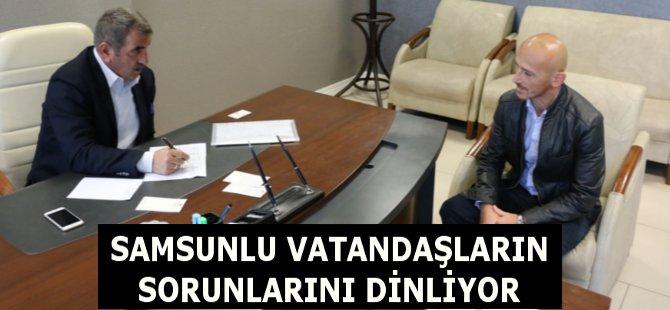 AK Parti Samsun Milletvekili Fuat Köktaş Vatandaşların Sorunlarını Dinliyor