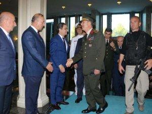 Orgeneral Akar Ve Kuvvet Komutanları İBB'yi Ziyaret Etti