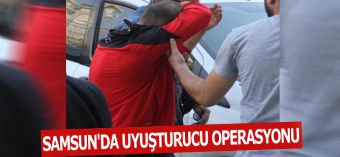 Samsun'da Evinde Uyuşturucu Ele Geçen Şahıs Tutuklandı