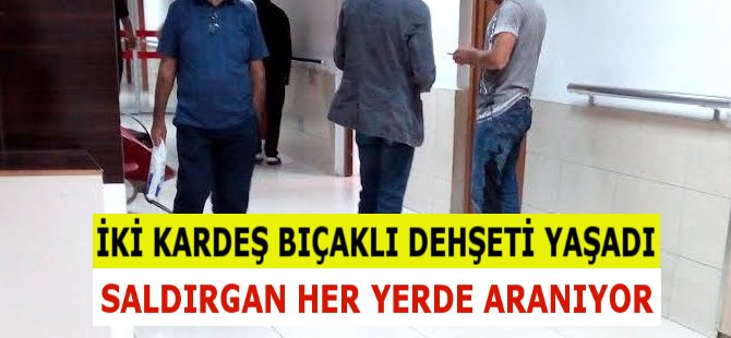Samsun'da Bıçaklı Saldırgan Dehşeti: İki Kardeş Bıçaklandı