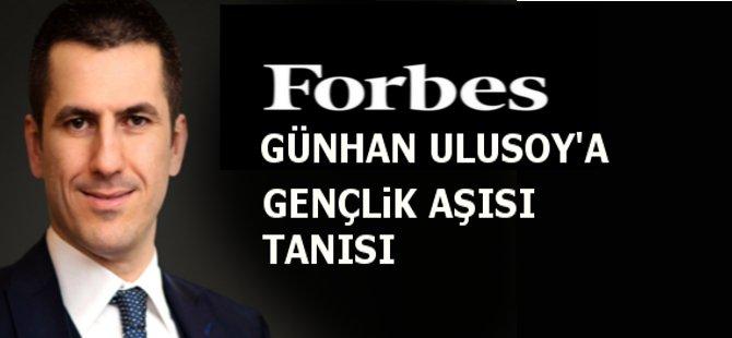 FORBES dergisi Samsunlu Genç İş Adamı Eren Günhan Ulusoy'u Ekim Sayısına Konuk Etti