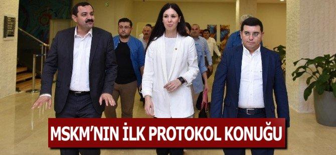 MSKM'nin İlk Protokol Konuğu Samsun Milletvekili Çiğdem Karaaslann Oldu