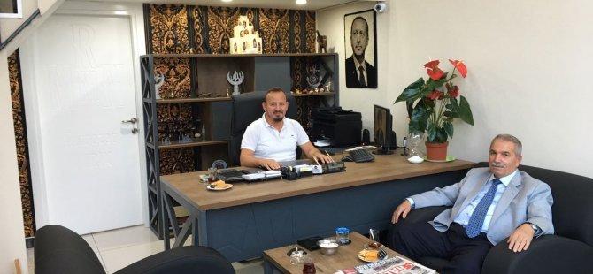 Samsun  İlkadım Belediyesi Eski Başkanı Necattin Demirtaş Ramazan Mırık'ı Ziyaret Etti