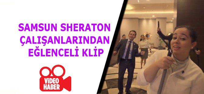 Sheraton Grand Samsun Hotel'de Keyifler Yerinde