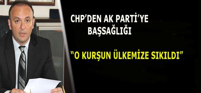 CHP Samsun İl Başkanı Av.Tufan Akcagöz AK Parti Camiasına Başsağlığı Diledi