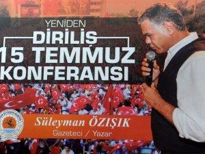 """Samsun Büyükşehir Belediyesi'nden """"15 Temmuz"""" Konferansı"""