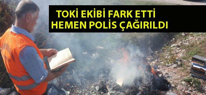 Samsun'da Yıkılan Binadan FETÖ Kitapları Çıktı