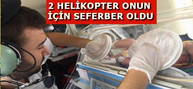 Samsun'da İki Günlük Bebek İçin İki Ambulans Seferber Oldu