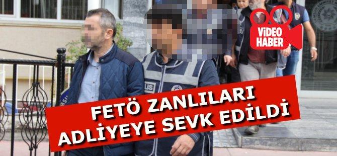 Samsun'da 30 FETÖ Zanlısı Adliyeye Sevk Edildi