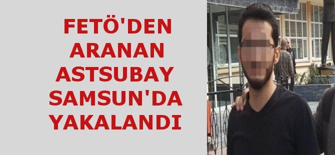 Ardahan'da FETÖ'den Aranan Astsubay Samsun'da Yakalandı