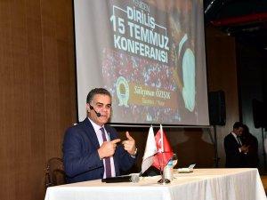 """Samsun'da """"Yeniden Diriliş -15 Temmuz"""" Konferansı"""