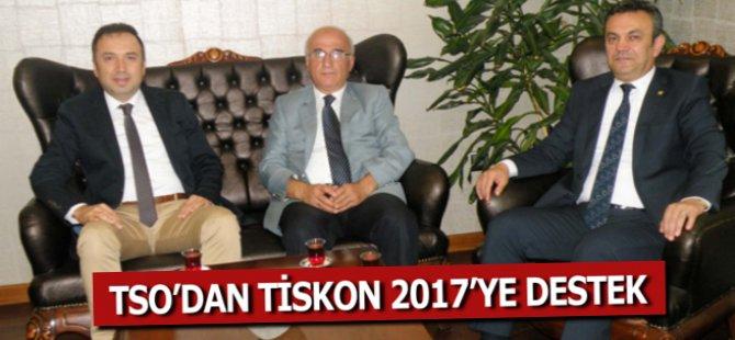 Samsun TSO'dan TİSKON 2017'ye Destek