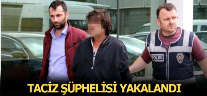 Samsun'da Taciz Şüphelisi Yakalandı