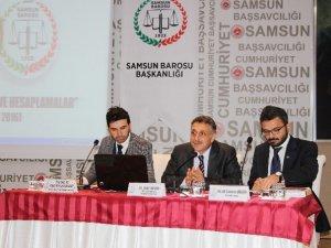 """Samsun'da """"Tazminat Hukuku Ve Hesaplamalar"""" Semineri Yapıldı"""