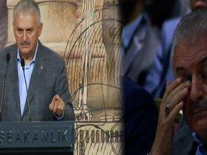 Başbakan Yıldırım Gözyaşlarını Tutamadı
