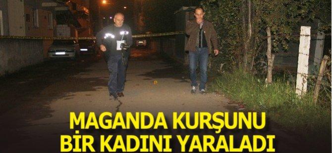 Samsun'da Maganda Kurşunu Bakkala Giden Kadını Ağır Yaraladı