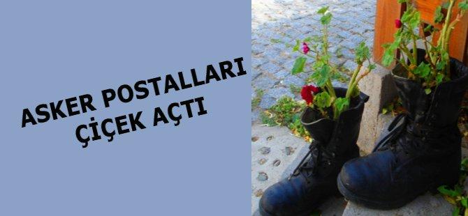 Samsun'da Asker Postalları Çiçek Açtı