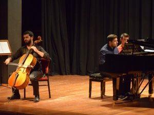 """Güzel Sanatlar Enstitüsü'nden """"Viyolonsel Ve Piyano Resitali"""""""