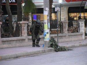 Nusaybin'de Şüpheli Çanta Fünyeyle Patlatıldı