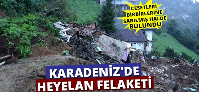 Karadeniz'de Heyelan Felaketi, Bir Aile Yok Oldu
