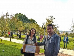 KPSS Kırtasiye Setleri Köy Okullarına Gidecek