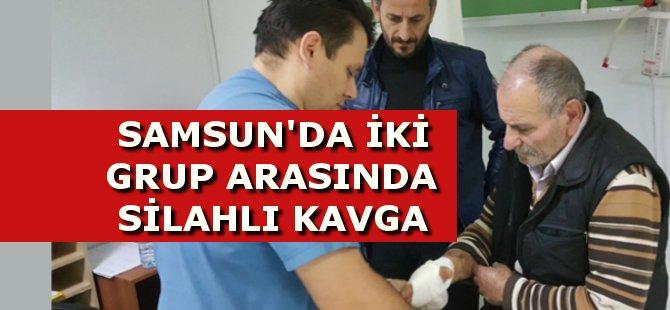 Samsun'da İki Grup Arasında Çıkan Silahlı Kavgada Bir Kişi Yaralandı