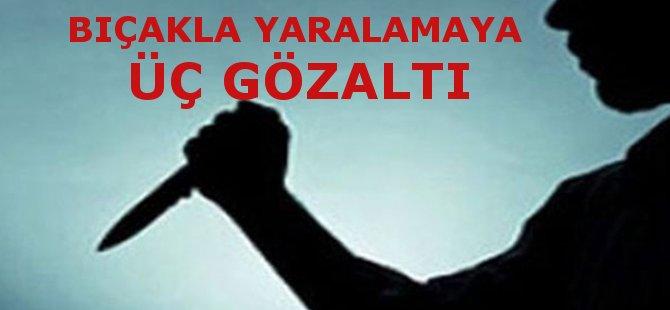 Samsun'da Bıçakla Yaralama İddiasıyla Üç Kişi Gözaltına Alındı