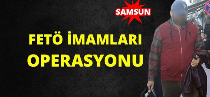 Samsun ve Amasya'da FETÖ Operasyonu, 5 Gözaltı
